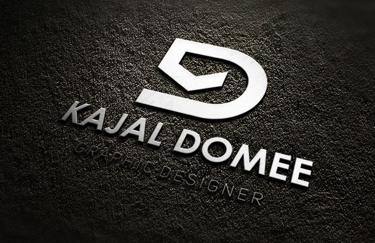 My personal logo as a designer, inspired from the initials of my name.