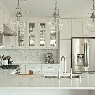 Before and After: A Stunning Ikea Kitchen Transformation: The following post was originally featured on House*Tweaking and written by blogger Dana Miller who is part of POPSUGAR Select Home.