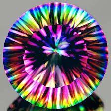 PURA JOIA!: As cores do arco-íris numa única pedra!