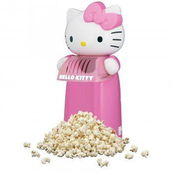 Hello Kitty Hot Air Popcorn Maker - http://houseofjunque.com/product/hello-kitty-hot-air-popcorn-maker -