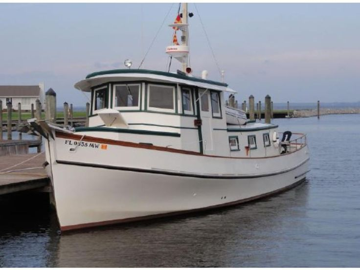 1971 Wittholtz Pilothouse trawler Repowered 2014 powerboat for sale in Florida