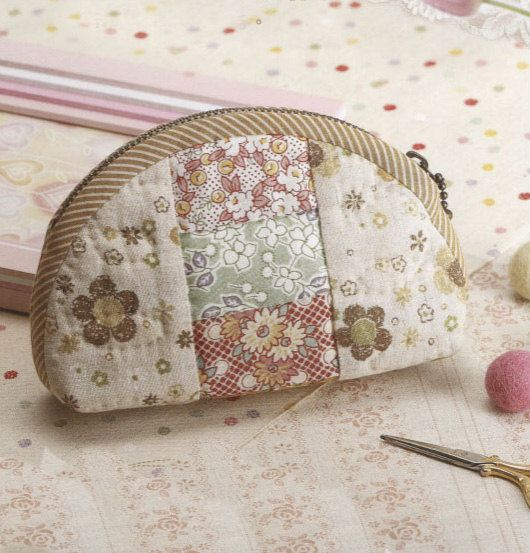 How to make tutorial vintage cosmetic bag purse by msirisook