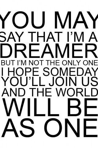 Imagine lyrics
