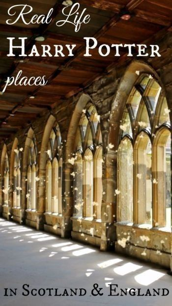 On the Trail of Harry Potter – Real Life PlacesThat Inspired The Books