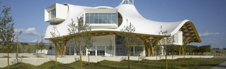 Centre Pompidou-Metz looks like an amazing building to visit. Plus, their english website is one of the best museum websites I've found in France.  Just a trainride away from Paris!