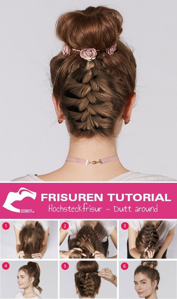 Hairstyle Tutorial: Updo Hairstyling – Hairstyles & Hair –
