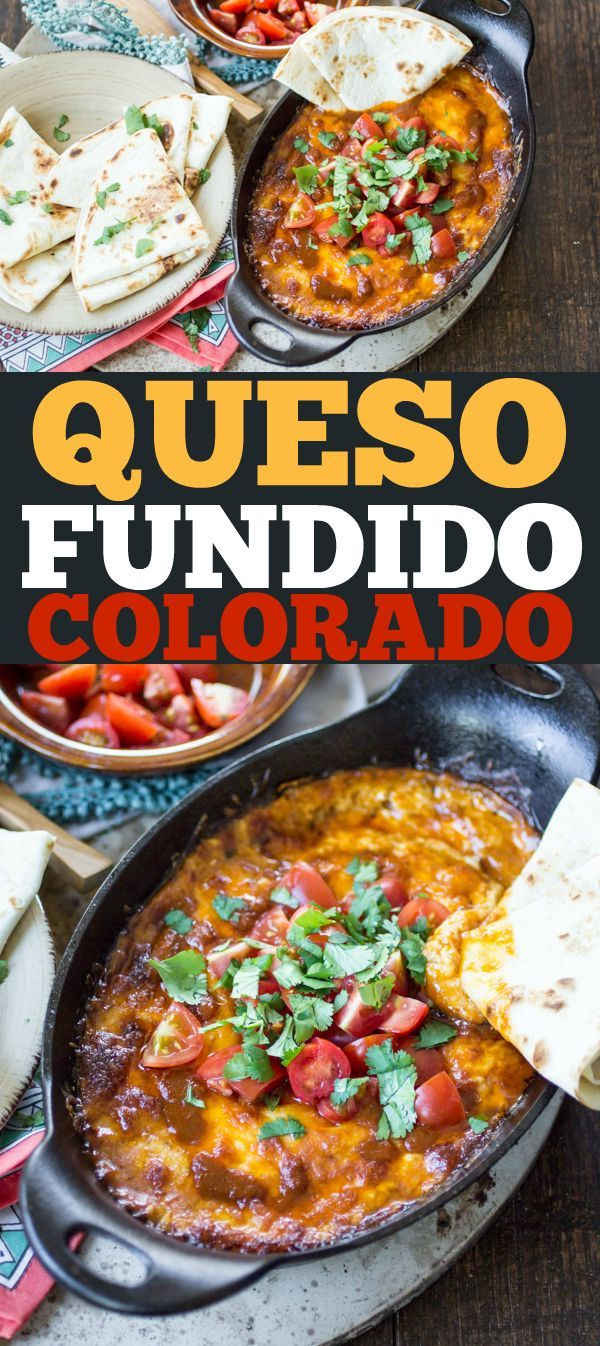 Queso Fundido Colorado | Recipe | Chips, Tortillas and ...