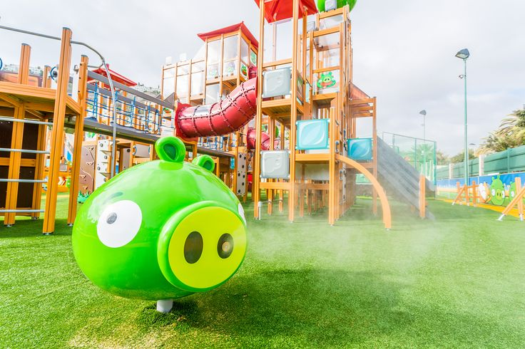 Angry Birds Activity Park, Puerto Rico, Gran Canaria  See more: http://www.lappsetcreative.fi/References/