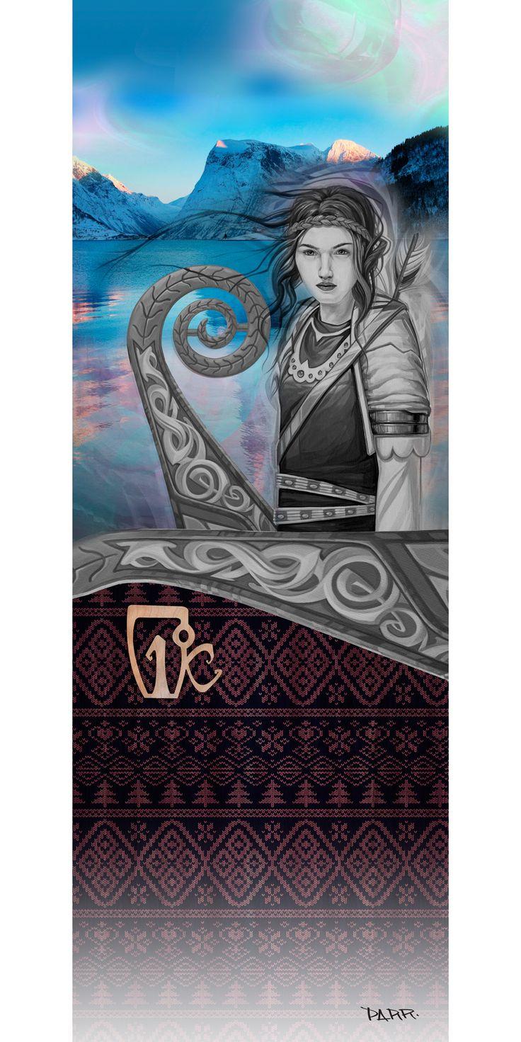 16 Maiden Fine Art Print