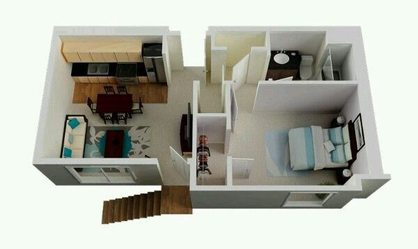 Pag 332  -  Pequeno apartamento de Mia em SAN DIEGO.