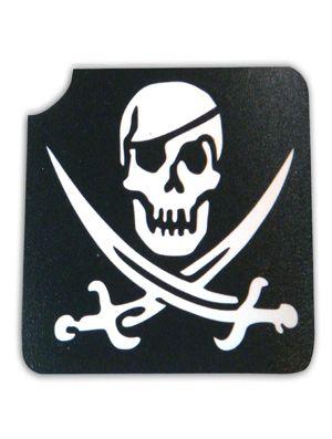 Tattoo Sjabloon Pirate