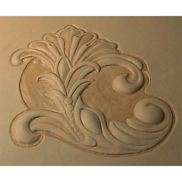 Leathercraft Library - Leather Repousse Pattern