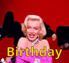 Happy Heavenly Birthday to our Angel Marilyn Monroe 😇👄🍸🎈 We will Love you forever Marilyn 💖 Born:June 1, 1926 - Died:August 5 , 1962 (age 36) 🌟