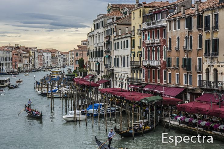 Grande Canal from the Rialto Bridge, Venice, Italy