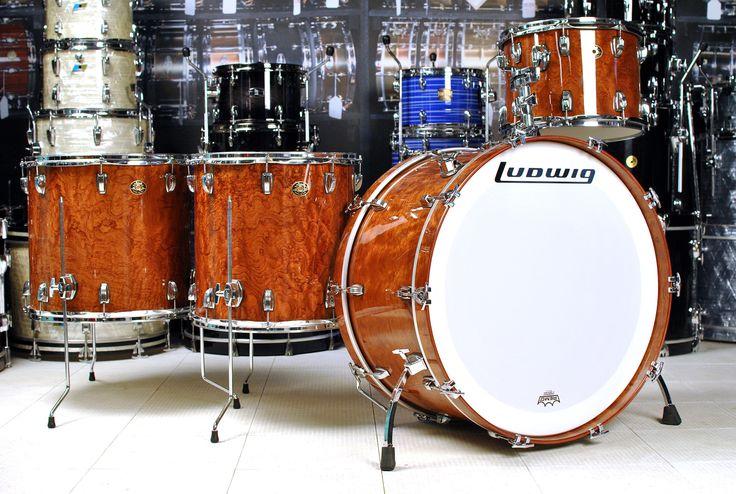 used ludwig classic maple 4pc bonham drum set african bubinga drum kits pinterest used. Black Bedroom Furniture Sets. Home Design Ideas