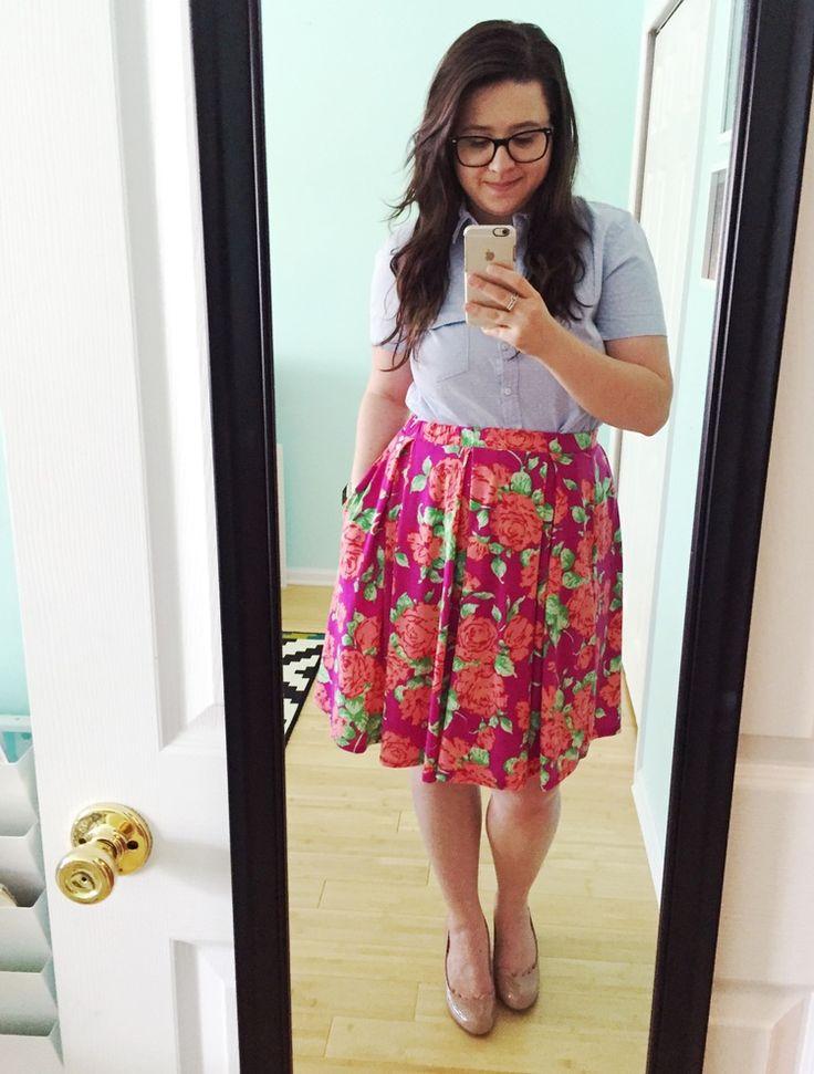 LulaRoe Madison Skirt and a LulaRoe Review