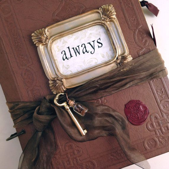 Make a Harry Potter wedding even more magical with a one-of-a-kind Harry Potter inspired guestbook!    Each book is custom made to order, so no