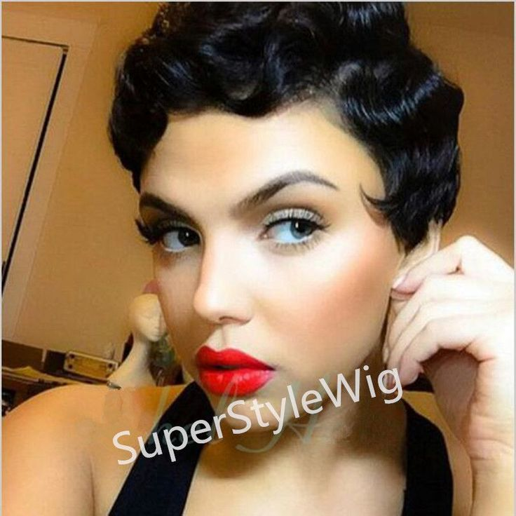 Material: Synthetic Hair Item Type: Wig Celebrity Hairstyles: Tyra Banks' Hairstyle Length: Short Wigs Type: Natural Wigs Made Method: machine Cap Size: Medium Net Weight: 180g Can Be Permed: No Style