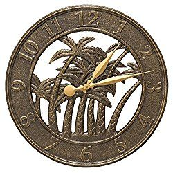 """18"""" Palm Tree Indoor/Outdoor CLOCK"""