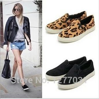 Find More Flats Information about Spring&summer slip Shoes on leopard Flat Platform rivet Loafer flats shoes For Man&woman  2015 fashion hot Selling,High Quality shoes high,China shoe cake Suppliers, Cheap shoe hole from I 1 Beauty on Aliexpress.com