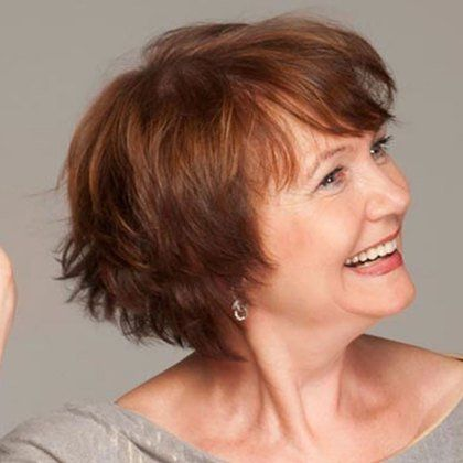 40 best short hairstyles for women over 60  older women