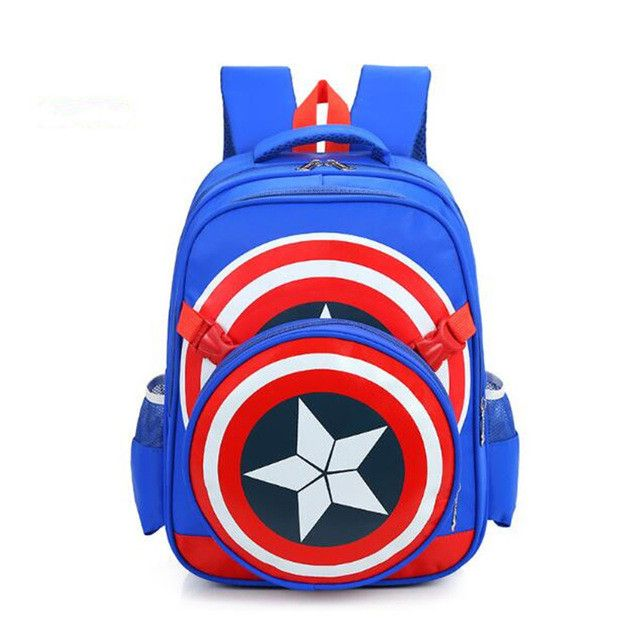 new school backpacks avengers captain america cartoon style schoolbags for kids children shoulder bags mochila infantil ZZ214