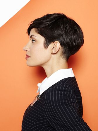 The Sly Trick To Conquering Your Pixie's Awkward Phase #Refinery29