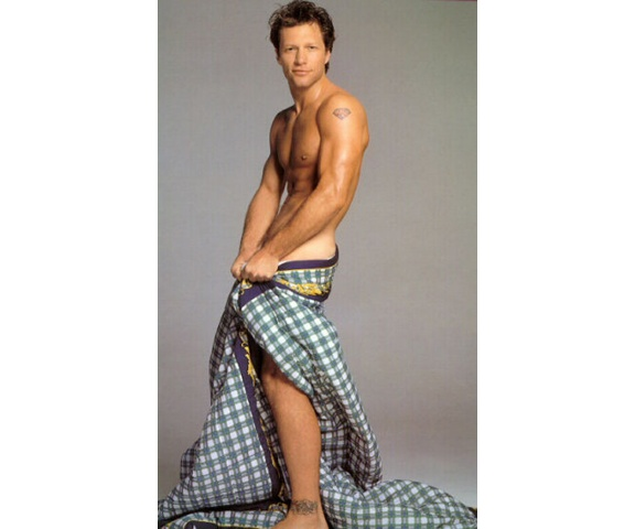 Jon Bon Jovi...I have this picture on my fridge and I look at it everyday...puts a smile on my face!