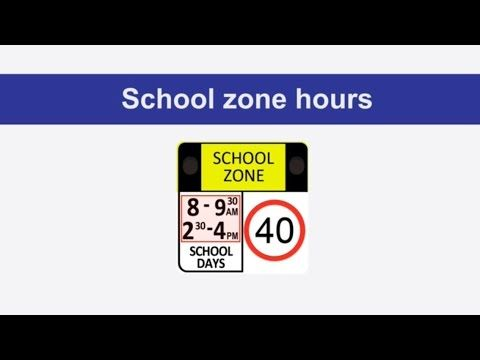 School zone flashing lights - Schools - Staying safe - NSW Centre for Road Safety