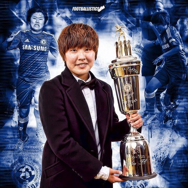 Ji So Yun: 2015 PFA POTY ~ Chelsea FC Ladies