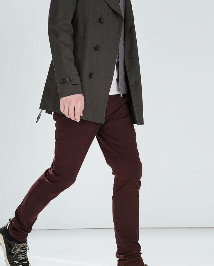 Image 1 of TROUSERS WITH DOUBLE POCKET from Zara