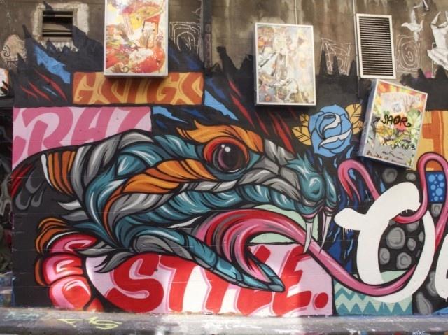 Melbourne Street Graffiti Street graffiti, Street art