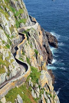 Scottish single track coastal road.Our tips for 25 fun things to do in Scotland: http://www.europealacarte.co.uk/blog/2010/12/30/things-scotland/