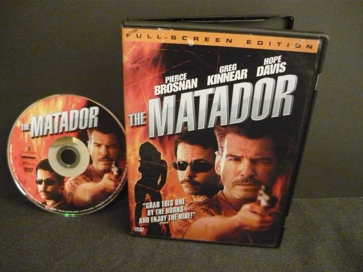 http://www.ebay.com/itm/The-Matador-DVD-FULLSCREEN-Comedy-Action-Adventure-Fran-Walsh-Pierce-Brosnan-/172832490592 (scheduled via http://www.tailwindapp.com?utm_source=pinterest&utm_medium=twpin)