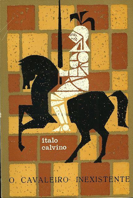 Cover by João da Câmara Leme for Calvino, O Cavaleiro Inexistente (early 60s)