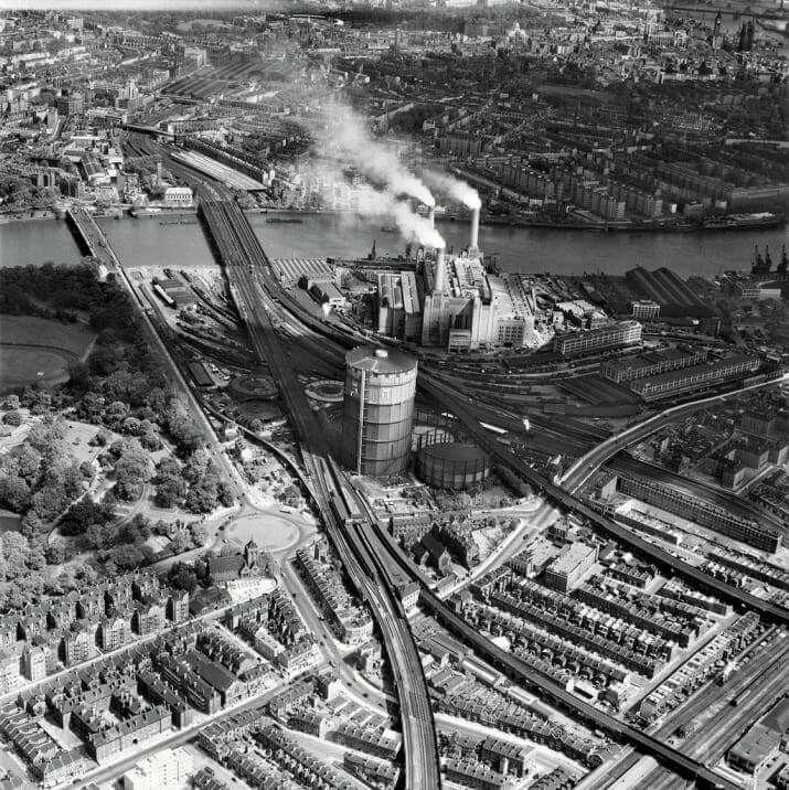 Battersea Power Station 1953