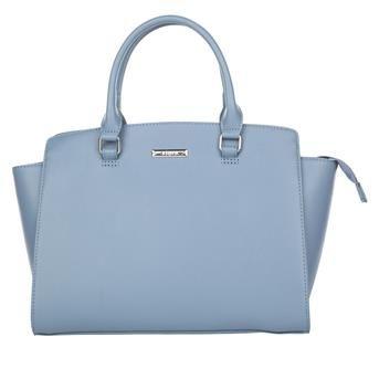 Virginia krijgt een blauwe handtas van Jill (haar moeder)