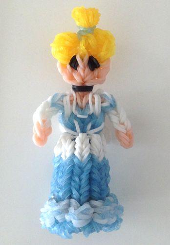 Rainbow Loom Disney Princess Cinderella