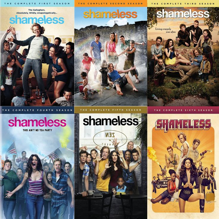 Shameless Seasons 1-6 Set on DVD