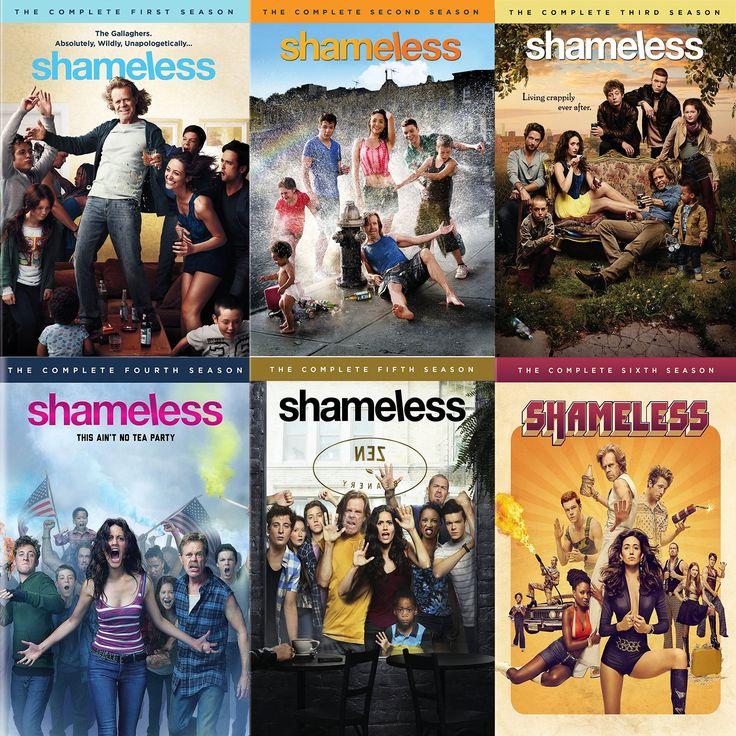 Shameless Seasons 1-6 Set on DVD