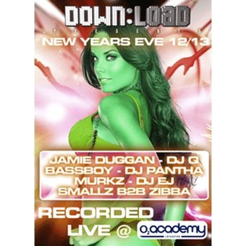 Download - Download New Years Eve 2012-2013 6xCD Pack Label:Download  Format: 6 x CD Pack Styles: Download £17.49 (£20.99 inc VAT)  Digitally recorded live at the O2 Academy Leicester for the Download NYE 2012/13 party and featuring: Jamie Duggan, DJ Q, Murkz & DJ EJ, Smallz & Zibba, Bassboy & Pantha and DJ Chef.  Available now at www.catapult.co.uk