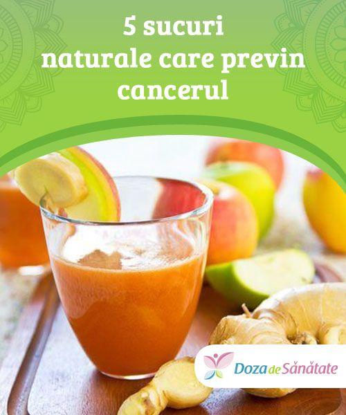 5 sucuri naturale care previn cancerul  Dacă incluzi următoarele sucuri în dieta ta zilnică, îți vei minimaliza riscul de a dezvolta cancer și numeroase alte boli.