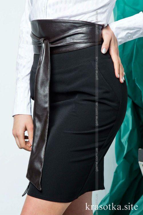 Классическая серая или черная юбка-карандаш идеальный образец офисной моды для любого возраста!