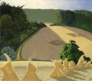 John Nash, The Cornfield 1918, 94 x 101cm, Tate