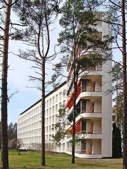Paimo Sanatorium, Finland (1928-1933) | Alvar Aalto