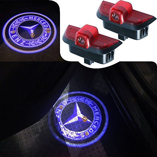 For Mercedes Benz C Class, JKCOVER Car Door LED Welcome Projector Blue Circle Logo Ghost Shadow Door Light - 2pcs - ACTION As a friend, Don't you think you're going to do something for your car? This item is a perfect choice, done. Compatibility: Mercedes Benz Models: Mercedes Benz C Class: W204 2008-2014 (SEDANS ONLY); C200 (2008-2011); C230 (2008); C280 (2008); C260 (2010-2013), C300 (2010-2013). Than, it is...
