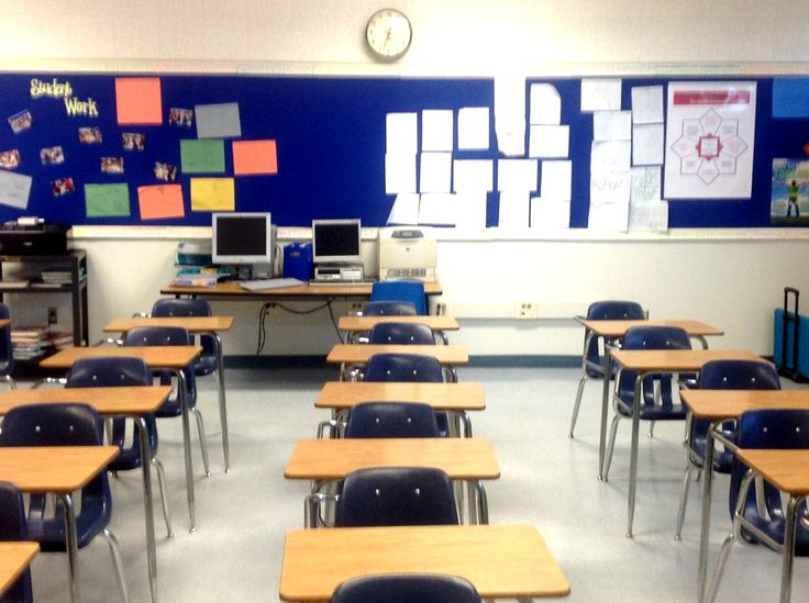 8 th grade math classroom