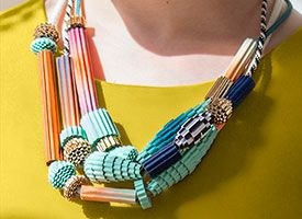 Make a DIY Statement Necklace In an Hour on Etsy