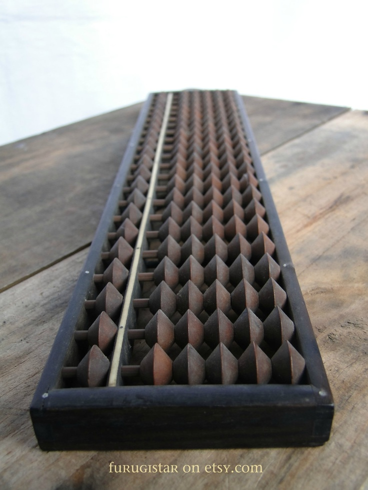 Japanese Abacus - one of the earliest computing devices.