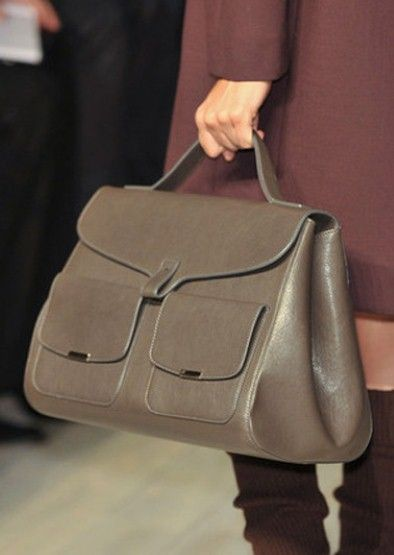 Victoria Beckham has named the must have bag from her autumn/winter 2012 collection 'Harper' after her new baby daughter - now THATS a diaper bag!!